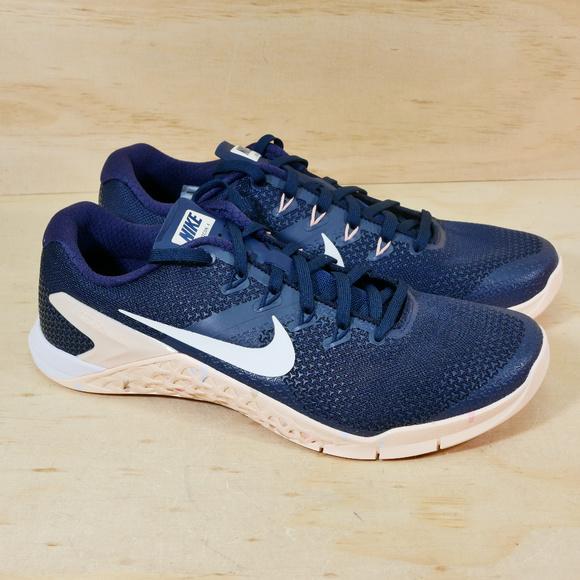 Nike Metcon 4 Obsidian Guava White